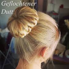 Frisuren Duttkissen Anleitung by Geflochtener Dutt Mit Duttkissen