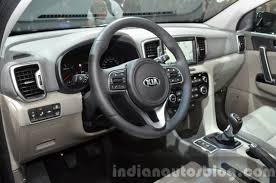 kia jeep 2015 2017 kia sportage steering wheel at iaa 2015 indian autos blog