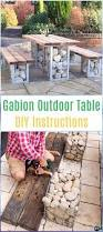diy outdoor table ideas u0026 projects free plans instructions