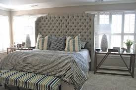 Tufted Headboard King Tufted Headboard King Model Modern House Design