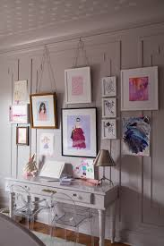 The Little Green Notebook Blog by One Room Challenge Parisian Girls Room The Reveal The Makerista