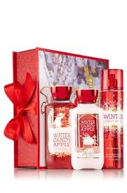 Candy Apple Supplies Wholesale Bath U0026 Body Works Winter Candy Apple Gift Set Bundle Of Shower Gel