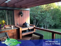 Backyard Grill Accessories by Outdoor Grills Treescapes Wichita And Andover Ks