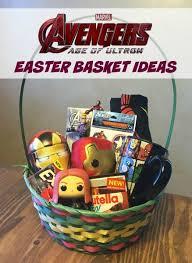 ideas for easter baskets easter basket ideas for avengersevent
