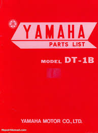 1969 yamaha dt1b parts list parts manual