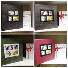 personalized scrapbook large leather photo album polaroid photo album personalized