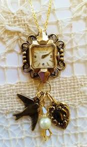 ladies necklace watch images 25 more awesome crafts ideas pinterest vintage watches jpg