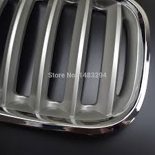 aliexpress com buy brand new chrome grill kidney covers fits for