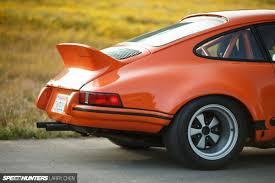orange porsche 911 taking your work home with you speedhunters