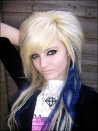 hairstyles for long hair punk hair styles gothic hair punk style