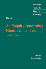 hume an enquiry concerning human understanding and other
