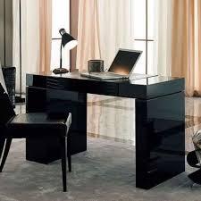 Black Home Office Desks by Black Modern Home Office Desk Design Ideas And Black Desk Lamp For