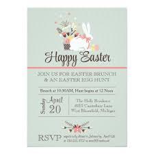 easter brunch invitation easter egg hunt invite zazzle