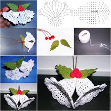 wonderful diy crochet bell ornaments