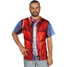 back to the future costume back to the future marty mcfly vest t shirt costume the green