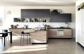 cuisine moderne bois clair modele cuisine bois moderne decorative modele de cuisine en bois