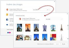 word 2013 clipart word 2013 ins礬rer une image dans un document m礬diaforma