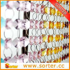 Room Divider Beads Curtain - modern hanging crystal beads curtain screen room divider or