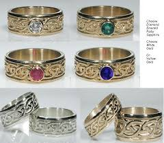 celtic gold rings images Celtic knotwork engagement rings celtic attic jpg