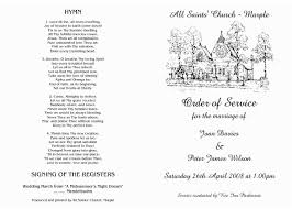 wedding ceremony program order wedding ceremony order of service template free write happy ending