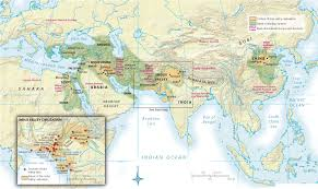 Map Of The World Bc by First River Valley Civilizations 3500 1500 B C E