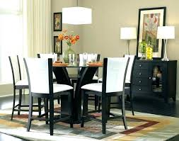 high top round kitchen table tall dining table tall round kitchen table and chairs tall round