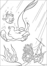 coloring pages of the little mermaid 225 best malebog den lille havfrue images on pinterest ariel