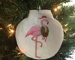 shell ornaments etsy