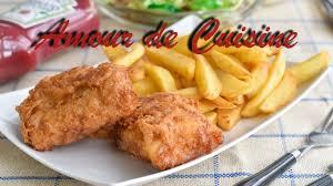 cuisine anglaise recette recette de fish and chips maison cuisine anglaise recette facile