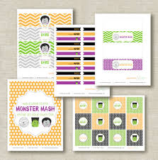 Printable Halloween Invites Free Halloween Printables From Peaches U0026 Mint Design Catch My Party