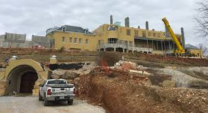 70 000 square foot mega mansion being built in missouri homes of