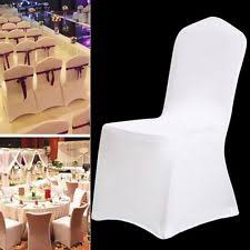 fitted chair covers spandex chair covers home garden ebay