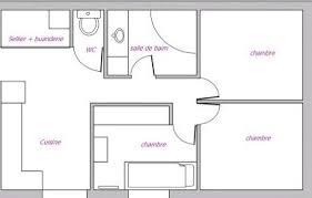 appartement avec une chambre plan appartement 80m2 2 chambres