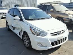 2012 hyundai accent gls for sale kmhcu5ae5cu054038 2012 white hyundai accent gls on sale in ca