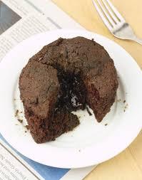 healthy single serving lava cake vegan gluten free low calorie