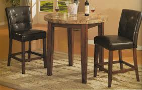 Round Dining Room Tables For 8 by Chair Bar Height Kitchen Table Sets In Dining Set Bar Height
