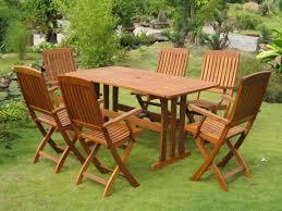 Modern Wood Patio Furniture Teak Wood Patio Furniture Set