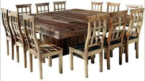 dining room tables that seat 16 large square dining table elegant large square dining table best