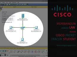 membuat jaringan lan dengan cisco packet tracer membangun jaringan lan dengan ip static dengan cisco komunologi