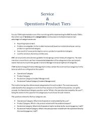 service operational u0026 product category remedy itsm