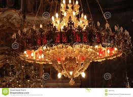 Church Chandelier Chandelier In An Orthodox Church Stock Photo Image Of Costly