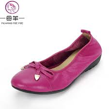 maternity shoes aliexpress buy muyang brand women genuine leather