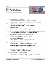 civil war wordsearch vocabulary crossword and more