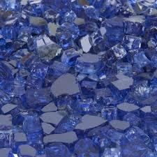 glass sapphire blue reflective