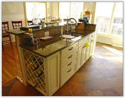 kitchen islands with wine racks kitchen island with wine rack plans home design ideas