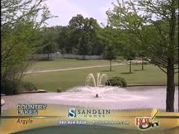 sandlin homes country lakes argyle youtube