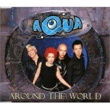 around the world aqua song