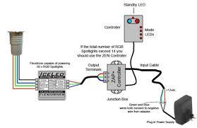 colour changing rgb led spotlights wiring schematics