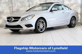 mercedes herb chambers used 2014 mercedes e class in boston ma serving cambridge