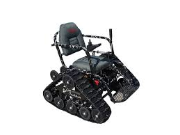Power Chair With Tracks Tracked Power Chair New Wheelchair With Rubberized Tracks Can